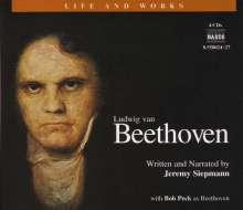 Life and Works - Ludwig van Beethoven (in engl.Spr.), 4 CDs