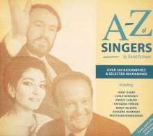A-Z of Singers (4 CDs & Buch), 4 CDs