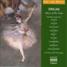 Edgar Degas - Music of His Time, CD