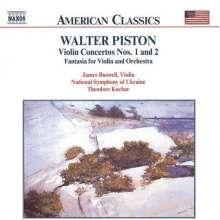 Walter Piston (1894-1976): Violinkonzerte Nr.1 & 2, CD