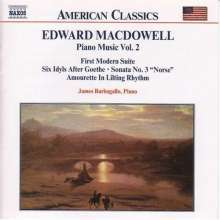 Edward MacDowell (1860-1908): Klavierwerke Vol.2, CD