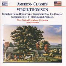 Virgil Thomson (1896-1989): Symphonien Nr.2 & 3, CD