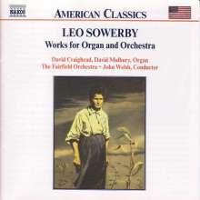 Leo Sowerby (1895-1968): Werke f.Orgel & Orchester, CD