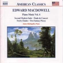Edward MacDowell (1860-1908): Klavierwerke Vol.4, CD