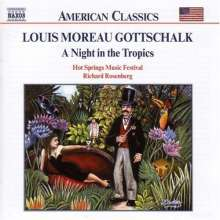 "Louis Moreau Gottschalk (1829-1869): Symphonie Nr.1 ""A Night in the Tropics"", CD"