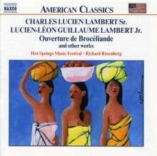 Lucien-Leon Guillaume Lambert (1858-1945): Ouvertüre de Broceliande, CD