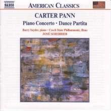 Carter Pann (geb. 1972): Klavierkonzert, CD