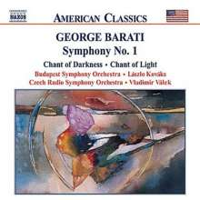 George Barati (1913-1996): Symphonie Nr.1, CD