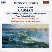 Charles Wakefield Cadman (1881-1946): Klaviertrio op.56, CD