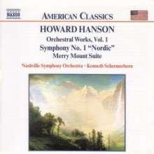 Howard Hanson (1896-1981): Symphonie Nr.1, CD
