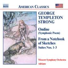 George Templeton Strong (1856-1948): Frome a Notebook of Sketches-Suiten Nr.1-3, CD