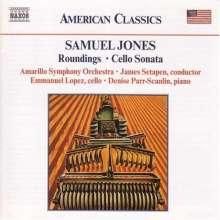 Samuel Jones (geb. 1935): Cellosonate, CD