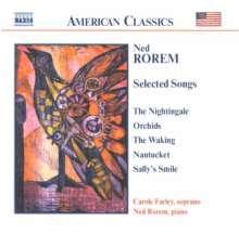 Ned Rorem (geb. 1923): Songs, CD
