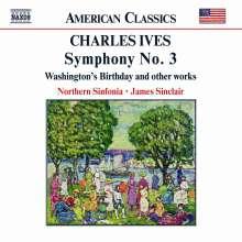 Charles Ives (1874-1954): Symphonie Nr.3, CD