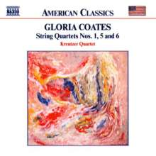 Gloria Coates (geb. 1938): Streichquartette Nr.1,5,6, CD