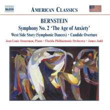"Leonard Bernstein (1918-1990): Symphonie Nr.2 ""The Age of Anxiety"", CD"