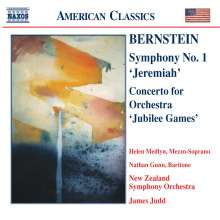 Leonard Bernstein (1918-1990): Symphonie Nr.1, CD