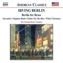 Irving Berlin (1888-1989): Berlin for Brass, CD