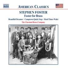 Stephen Foster (1826-1864): Foster for Brass (27 Song-Arrangements für Blechbläser), CD