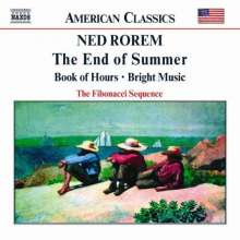 Ned Rorem (geb. 1923): Kammermusik, CD