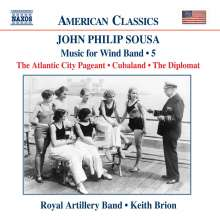 John Philip Sousa (1854-1932): Music for Wind Band Vol.5, CD