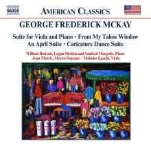 George Frederick McKay (1899-1970): Suite für Viola & Klavier, CD