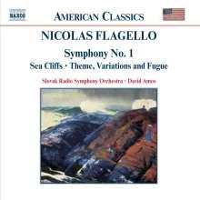 Nicolas Flagello (1928-1994): Symphonie Nr.1, CD