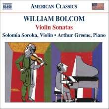 William Bolcom (geb. 1938): Sonaten für Violine & Klavier Nr.1-4, CD