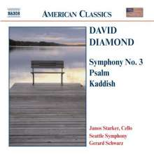 David Diamond (geb. 1915): Symphonie Nr.3, CD