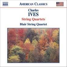 Charles Ives (1874-1954): Streichquartette Nr.1 & 2, CD