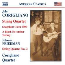 John Corigliano (geb. 1938): Streichquartett (1995), CD