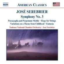 "Jose Serebrier (geb. 1938): Symphonie Nr.3 ""Mystique"", CD"