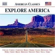 """Naxos American Classics Sampler """"Explore America"""" Vol.1, CD"""