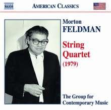 Morton Feldman (1926-1987): Streichquartett, CD