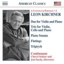 Leon Kirchner (1919-2009): Triptych für Cello & Violine, CD