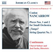Conlon Nancarrow (1912-1997): Pieces Nr.1 & 2 für kleines Orchester, CD