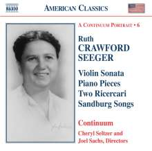 Ruth Crawford-Seeger (1901-1953): Kammermusik, CD