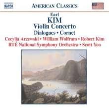 Earl Kim (1920-1998): Violinkonzert, CD