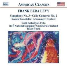 Frank Ezra Levy (geb. 1930): Symphonie Nr.3, CD