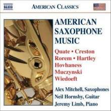 Alex Mitchell - American Saxophone Music, CD
