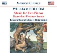 William Bolcom (geb. 1938): Musik für 2 Klaviere, CD