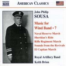 John Philip Sousa (1854-1932): Music for Wind Band Vol.7, CD