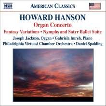 Howard Hanson (1896-1981): Konzert für Orgel,Harfe & Streicher op.22 Nr.3, CD