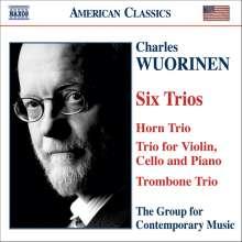 Charles Wuorinen (1938-2020): Horntrio, CD