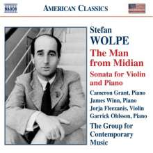 Stefan Wolpe (1902-1972): The Man from Midian für 2 Klaviere, CD
