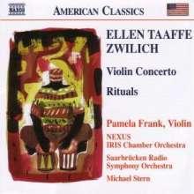 Ellen Taaffe Zwilich (geb. 1939): Violinkonzert, CD