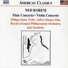 Ned Rorem (geb. 1923): Flötenkonzert, CD