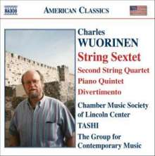 Charles Wuorinen (geb. 1938): Streichsextett, CD