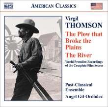 Virgil Thomson (1896-1989): The Plow that Broke the Plains-Suite (Filmmusik), CD