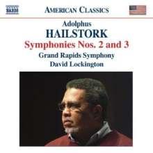 Adolphus Hailstork (geb. 1941): Symphonien Nr.2 & 3, CD